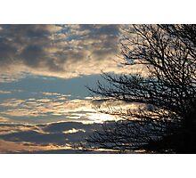 Winter Sky Photographic Print