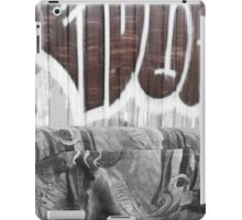 Graffiti - Brown iPad Case/Skin