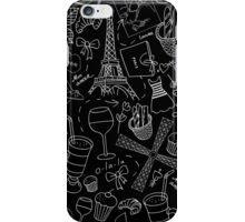- Walking in Paris pattern 2 - iPhone Case/Skin
