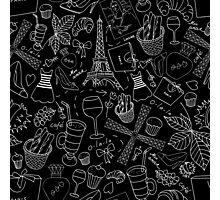 - Walking in Paris pattern 2 - Photographic Print