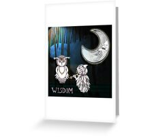 Wisdom Of The Owl Greeting Card