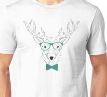 Hipster Deer T-Shirt Unisex T-Shirt