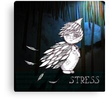 Stress Canvas Print