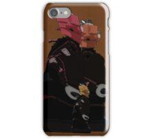 Family Unit -  Retro Digital Art iPhone Case/Skin