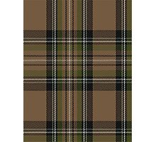 00416 Cavalier Brown Tartan  Photographic Print
