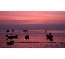 After the Sunset Photographic Print