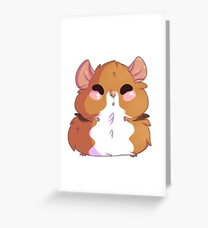 Hamster Everything Greeting Card