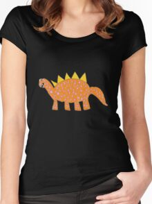 Dino Do-over Women's Fitted Scoop T-Shirt