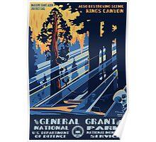national park alien invasion poster Poster