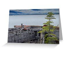 Shipwrecks at Neys Provincial Park Greeting Card