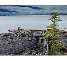 Shipwrecks at Neys Provincial Park Photographic Print
