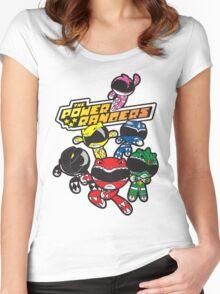 Power Rangers Women's Fitted Scoop T-Shirt