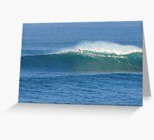 Waimea Bay Whale Watcher Greeting Card
