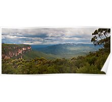 Jamison Valley from Wentworth Falls Lookout Poster