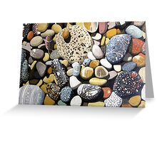 Still Life With Rocks Greeting Card