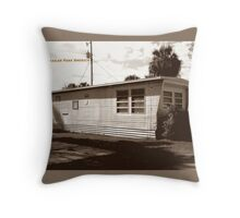 Trailer Park America  Throw Pillow