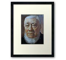 A MAN OF VISION - PAUL KRUGER Framed Print