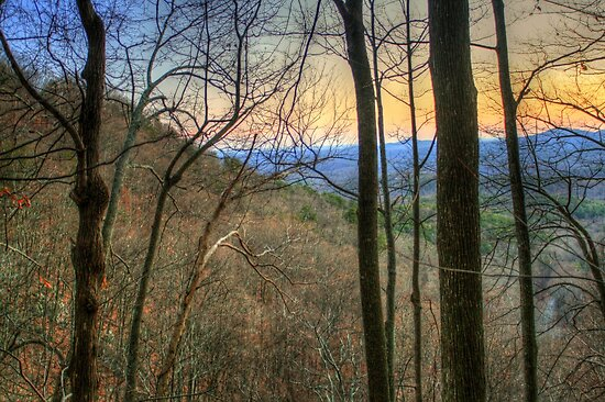 Another Amicalola Sunset by Chelei