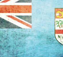 Fiji - Vintage Sticker