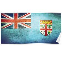 Fiji - Vintage Poster