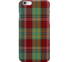 00419 Golden Broom Tartan  iPhone Case/Skin