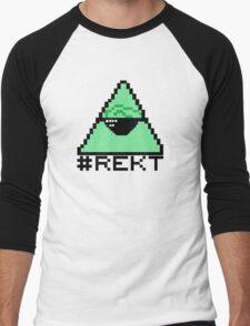 # REKT  Men's Baseball ¾ T-Shirt