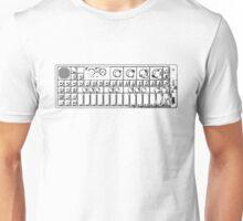 Decayed OP1 Keyboard Unisex T-Shirt