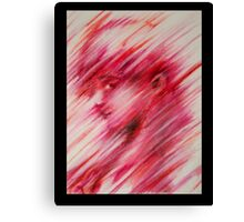 Red Lines  Canvas Print