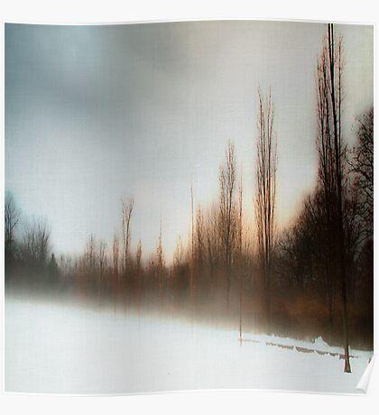 Blue Fog I Poster