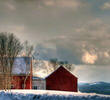 Barns With A View by Monica M. Scanlan