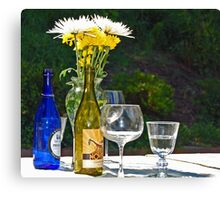Wine me Up Canvas Print