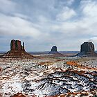 Monoliths, Monument Valley by Harry Oldmeadow