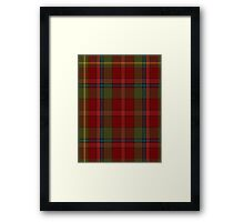 00420 Golden Broom #2 Tartan  Framed Print