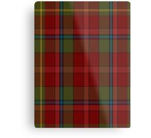 00420 Golden Broom #2 Tartan  Metal Print