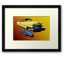 1955 Cadillac Series 62 Framed Print