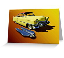 1955 Cadillac Series 62 Greeting Card