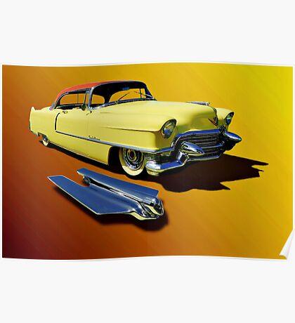 1955 Cadillac Series 62 Poster