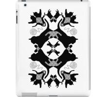 kaleidoscope cats iPad Case/Skin