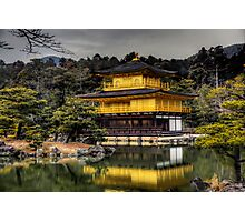 Golden Pavilion   金閣寺 (Kinkaku-ji) Photographic Print