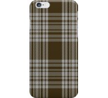 00422 Menzies Brown & White Tartan  iPhone Case/Skin