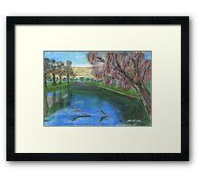 Riverscape Framed Print