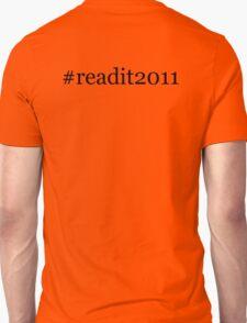 readit2011 - reading challenge 2011 T-Shirt