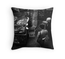 Throw away society, past it's use-by date, stinks anyway ... Throw Pillow
