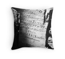 Pennyweight Children's Cemetery Throw Pillow