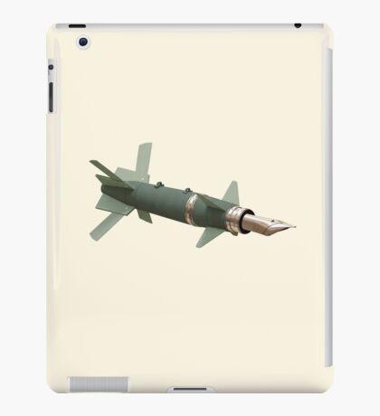 sky writing  iPad Case/Skin