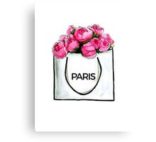 Paris Bag Canvas Print