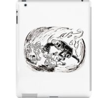 Run, Artie, Run! iPad Case/Skin