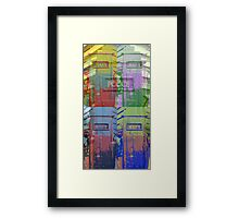Police Post Two Framed Print