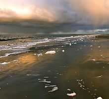 Rainfall over the North Sea by Adri  Padmos