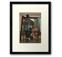 hotel rhino and porter fox Framed Print